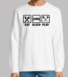 essen Sie Schlafspielpfeile