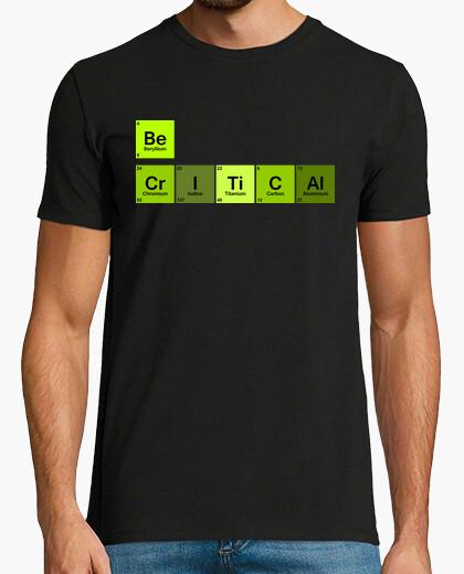 T-shirt essere critici