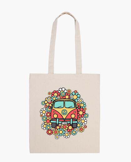 Borsa essere furgone hippie