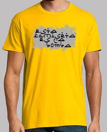Esta camiseta es la bomba