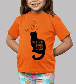 esta chica ama gatos gatitos