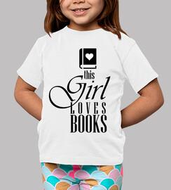 esta chica ama los libros