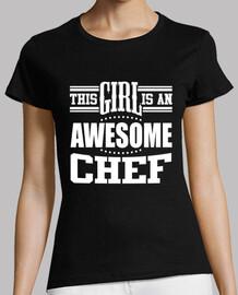 esta chica es un chef impresionante