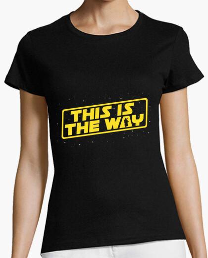 Camiseta esta es la forma