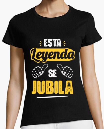 Camiseta Esta Leyenda Se Jubila V2