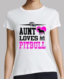 esta tía ama a su pitbull