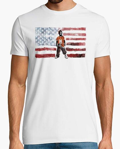 Camiseta Estados Unidos (Niño con Pistola)