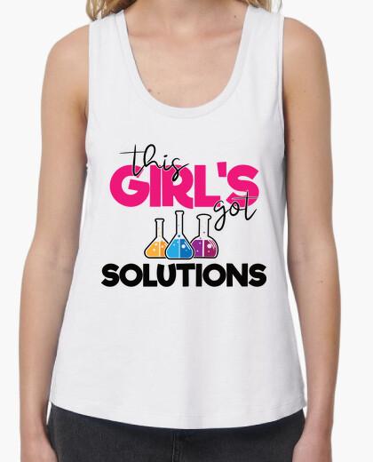 Camiseta estas chicas tienen soluciones...