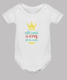 Este bebé es el rey de la casa