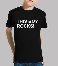 este chico rocas