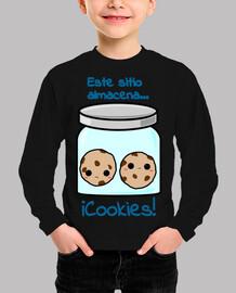 Este sitio almacena...¡Cookies!