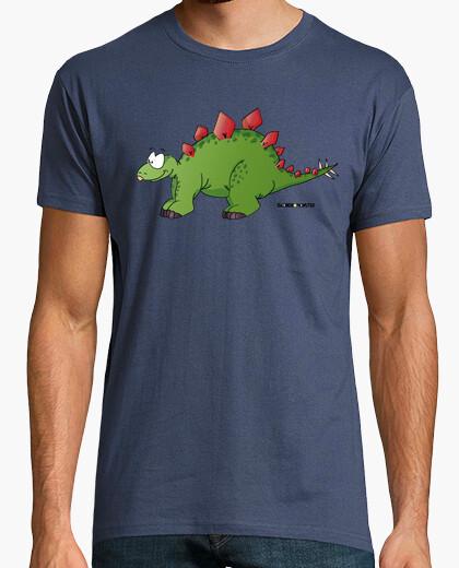 Camiseta Estegosaurio manga corta hombre