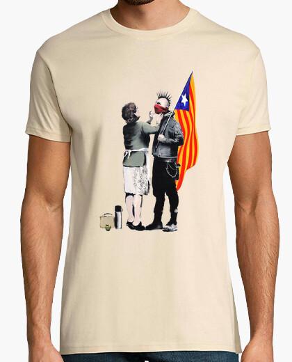 Camiseta Estelada Banksy