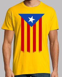 Estelada Blava (Catalan Indépendance Drapeau)