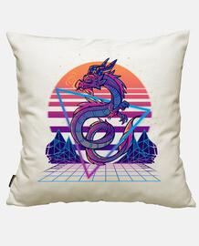 esthétique du dragon retrowave