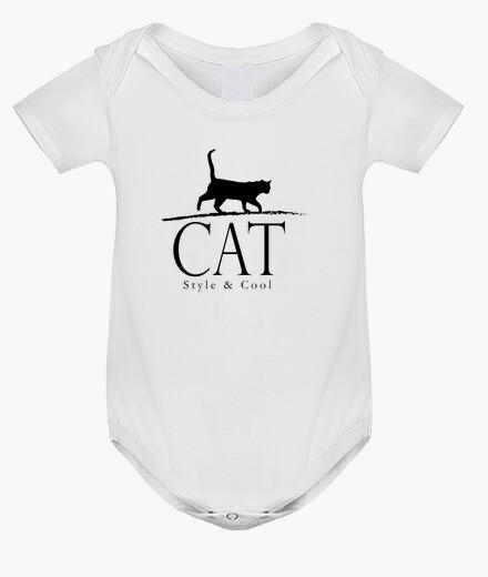 Ropa infantil estilo gato y fresco