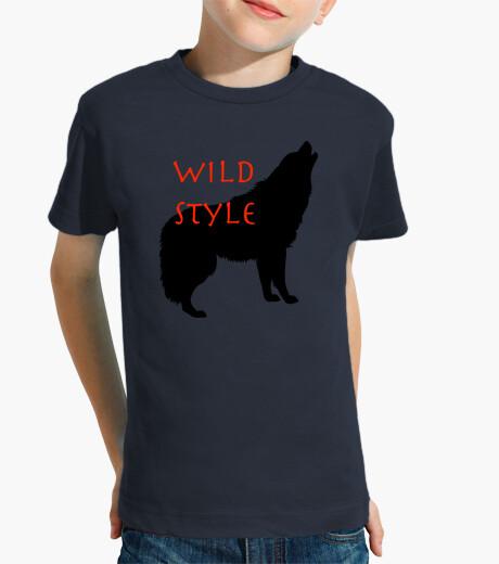 Ropa infantil estilo salvaje el lobo
