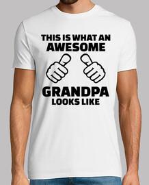 esto es lo que un grandioso abuelo luce li