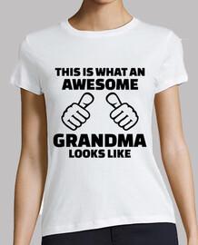 esto es lo que una grandiosa abuela parece li