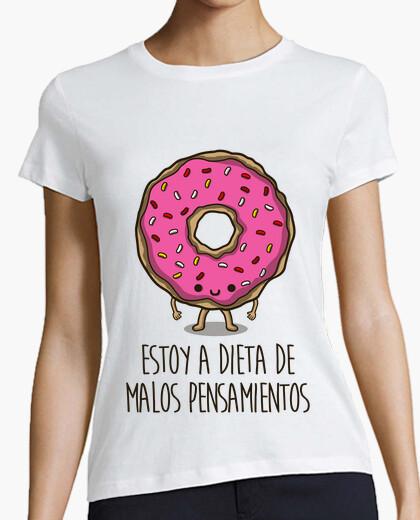 Camiseta Estoy a dieta de malos pensamientos