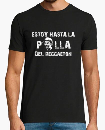 Camiseta Estoy hasta la polla del reggaeton