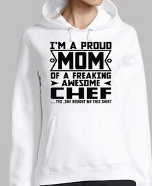 Estoy orgullosa mamá de un chef increíb