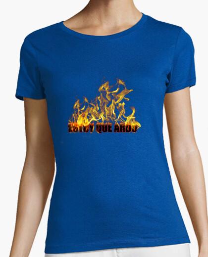 Camiseta Estoy que ardo (chica)