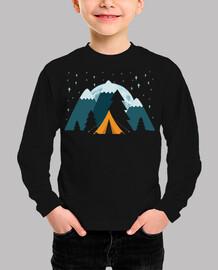 estr tent her moon mountain