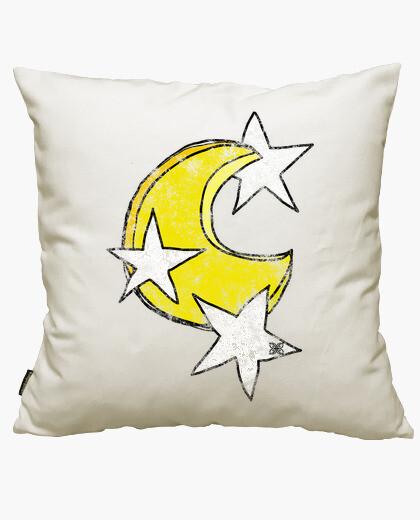 Housse de coussin Estrel lune et les