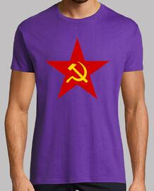 Estrella Comunista con Hoz y Martillo
