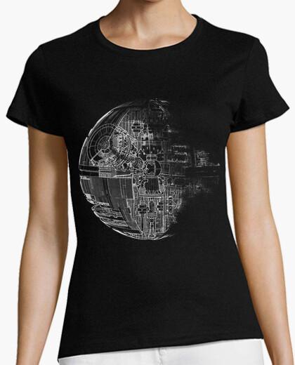 Camiseta Estrella de la Muerte grey