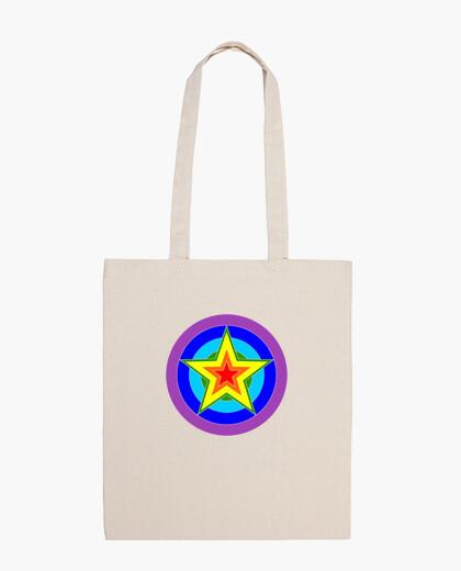 Bolsa estrella del arco iris