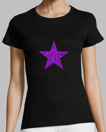 Estrella Morada Cristales