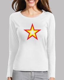 Estrella república (Camisetas moradas)