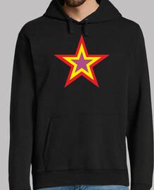 Estrella república (Sudadera chico)