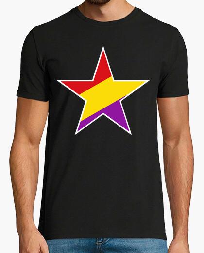 Camiseta Estrella republicana blanca