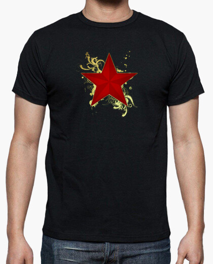 Camiseta Estrella roj (chico o chica)