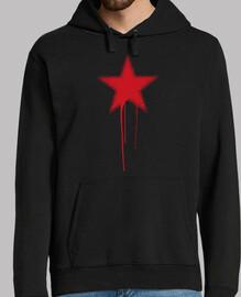 Estrella Roja Grunge