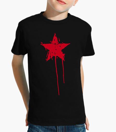 Ropa infantil Estrella Roja Pintura