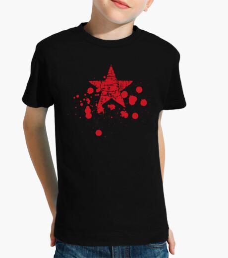 Ropa infantil Estrella Roja Salpicaduras