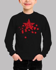 Estrella Roja Salpicaduras