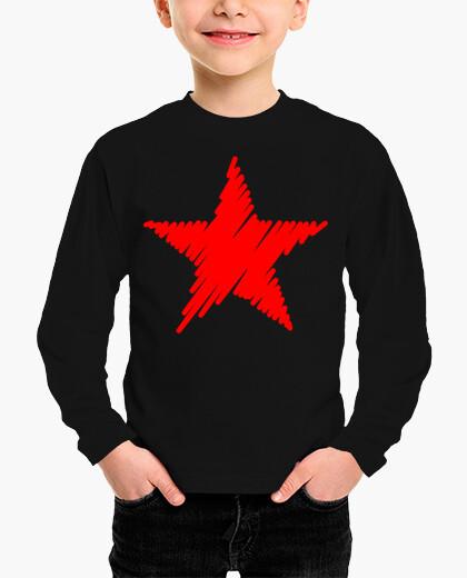 Ropa infantil Estrella Roja Trazos