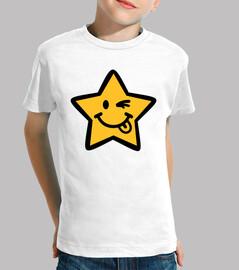 estrella sonriente