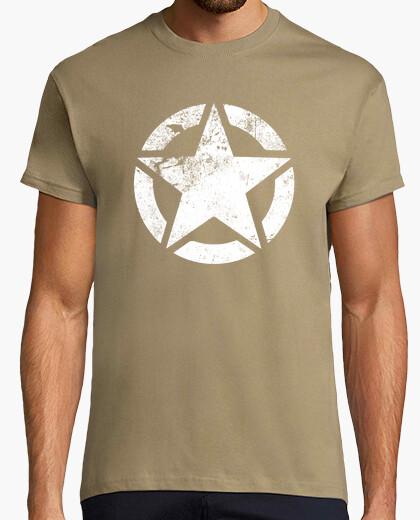 Camiseta estrellas del ejército de ee.uu.