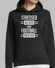 estresado bendecido y fútbol obsesionad