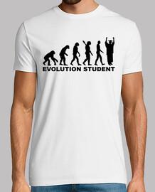 estudiante de la evolución