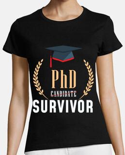estudiante de tesis de título de doctor