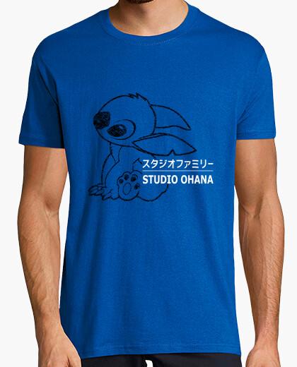 Camiseta estudio de la puntada