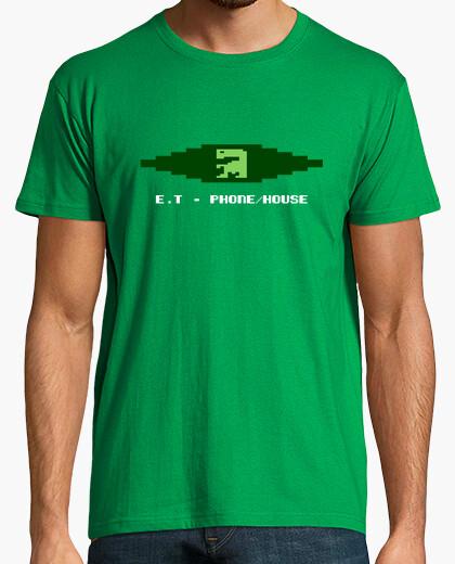 Camiseta ET Extraterrestre Videojuego Retro