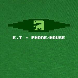 Camisetas ET EXTRATERRESTRIAL Atari 2600